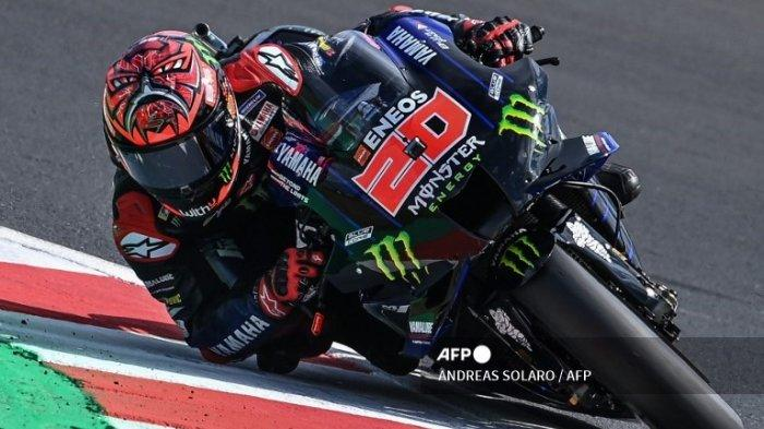 HASIL Kualifikasi MotoGP Tadi Malam Lengkap, Fabio Quartararo Urutan Berapa? Cek Link UseeTv Trans7