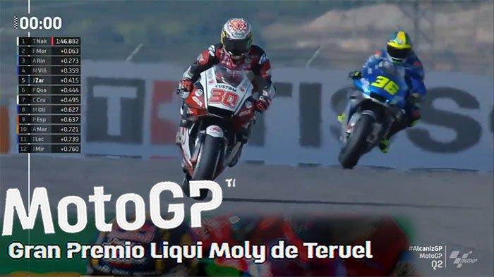 HASIL Kualifikasi MotoGp Tadi Malam Urutan Start MotoGp Hari Ini Nakagami Pole Position MotoGp Besok