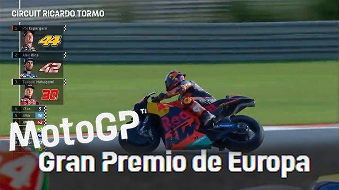 Susunan Lengkap Pebalap di Starting Grid MotoGP Hari Ini, Pebalap KTM Pimpin Balap MotoGP Eropa 2020