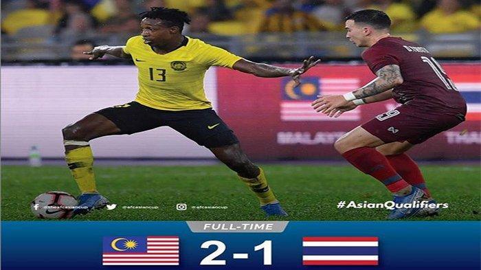 Hasil Kualifikasi Piala Dunia 2022 Asia Malaysia Bungkam Thailand Vietnam Kuasai Klasemen Grup G Tribun Pontianak