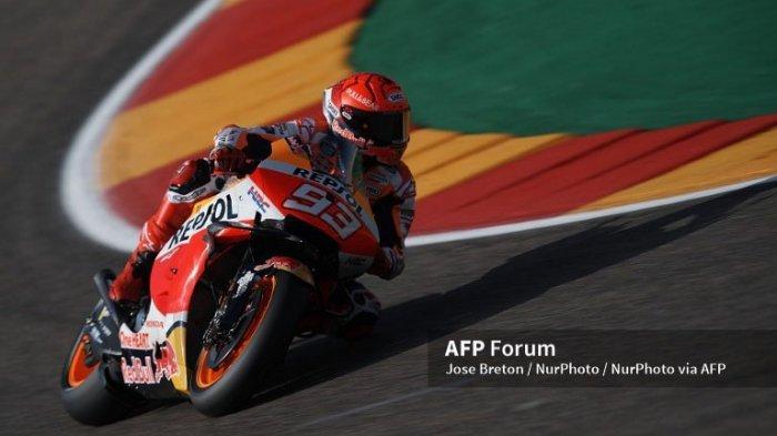 Hasil Kualifkasi MotoGP Aragon 2021 11 September, Urutan Start Marquez dan Starting Grid Moto2 Moto3