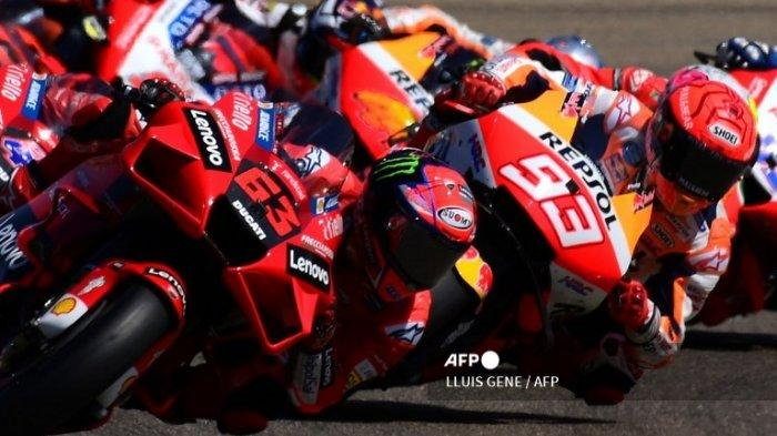 URUTAN Start MotoGP San Marino 2021 Minggu Besok, Duel Francesco Bagnaia vs Marquez Bakal Terulang
