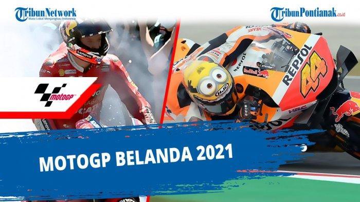 Jadwal MotoGP 2021 Lengkap dengan Jam Tayang Trans7 Hari Ini MotoGP Assen 2021 Live Trans7