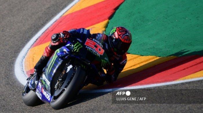 HASIL Latihan Bebas 3 MotoGP Hari Ini GP Aragon 2021, Fabio Quartararo Marc Marquez Valentino Rossi