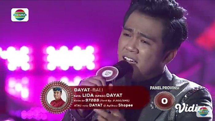 Hasil LIDA 2019 Top 16 Grup 2 Dayat dari Bali Tersenggol! Cut, Sheyla & Puput Melaju ke Top 12 Besar
