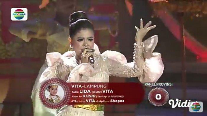 Hasil LIDA 2019 Top 16 Grup 3 Vita dari Lampung Tersenggol! Ini Perolehan Akhir Hanan, Kiki & Faul