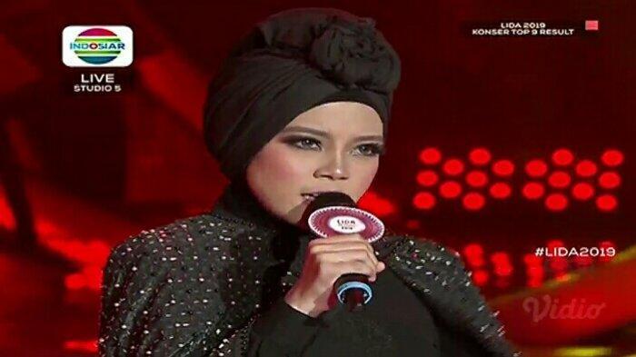 Hasil LIDA 2019, Kiki dari Riau Tersenggol di Top 9 Grup 1 Result Show! Alif & Puput Melaju ke Top 6
