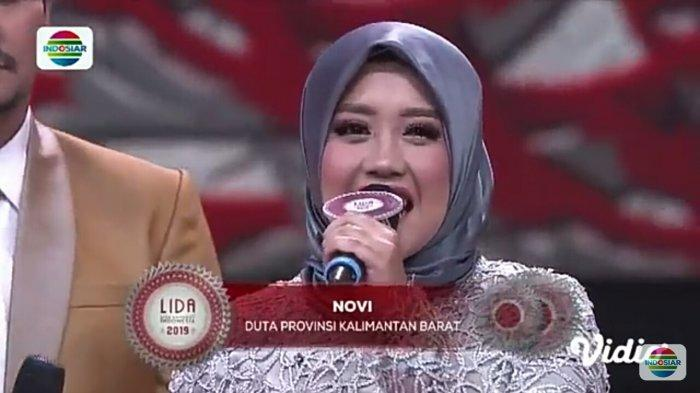 Hasil LIDA Indosiar 2019 Top 21 Grup 6! Novi Tersenggol, Kalimantan Barat Kehabisan Duta Provinsi