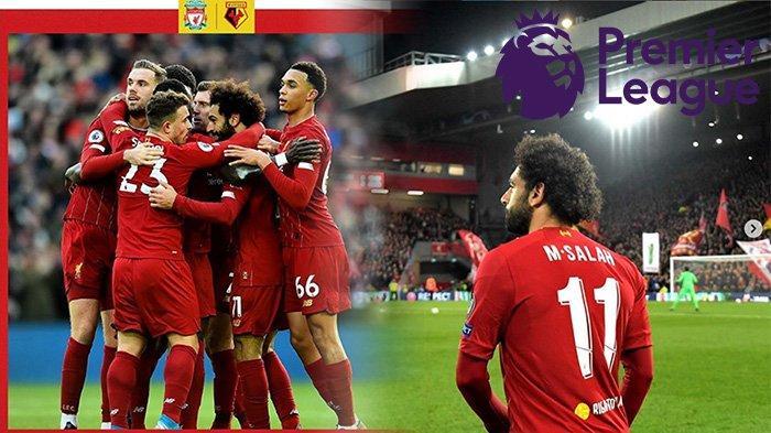 HASIL Liga Inggris Liverpool Vs Watford |SalahBrace, Virgil Van Dijk dan Joe Gomez Nyaris Blunder