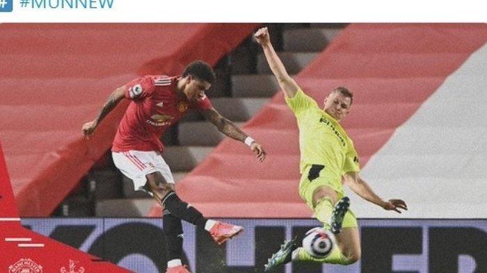 HASIL Liga Inggris Manchester United Vs Newcastle United - Setan Merah Gagal Menang