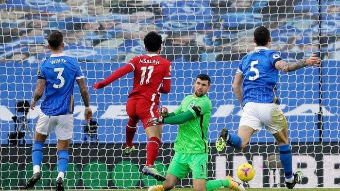 HASIL Liverpool Vs Brighton EPL Pekan 10, 2 Gol The Reds Dianulir VAR   Klasemen Liga Inggris Update