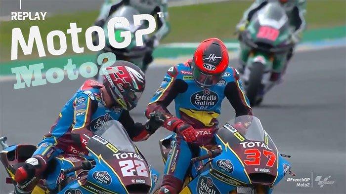 HASIL FP1 Moto2 GP Portugal 2021 - Joe Roberts Tercepat, Dua Pembalap Moto2 Mandalika Terpuruk