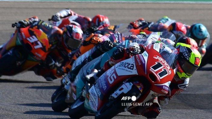 HASIL Moto3 Hari Ini GP Aragon 2021, Dennis Foggia Vs Deniz Oncu Cuma +0.041 Detik! Cek Link MotoGp