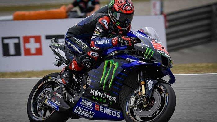 HASIL MotoGP Catalunya 2021 Malam Ini Trans7 - Quartararo Tercepat, Cek Update Klasemen MotoGP 2021