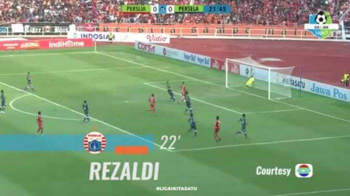 Hasil Persija Jakarta Vs Persela Lamongan: Gol Rezaldi Hehanusa Bawa Persija Unggul Babak Pertama