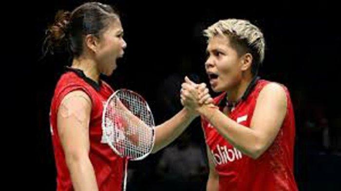 JAM Tayang Final Badminton Ganda Putri Greysia Polli/Apriyani Rahayu Besok Senin 2 Agustus 2021