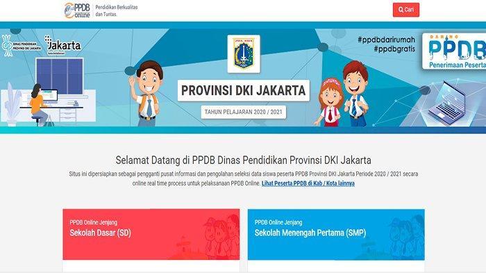 HTTP://PPDB.JAKARTA.GO.ID 2020, Link Pendaftaran Sekolah PPDB Online SMP & SMA Jalur Zonasi Bina RW