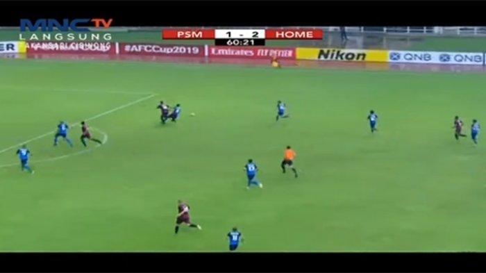 HASIL PSM Makassar Vs Home United Grup H Piala AFC CUP 2019, Nasib Juku Eja Diujung Tanduk