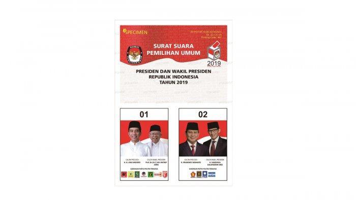 Hasil Quick Count Hitung Cepat Pilpres 2019 Diketahui Jam 15.00 WIB, Pemenang Jokowi atau Prabowo?
