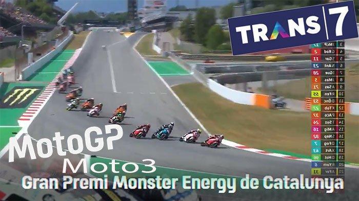 HASIL MotoGP Hari Ini Kelas Moto3 Lengkap, Sergio Garcia Pemenang MotoGp Catalunya 2021 Kelas Moto3