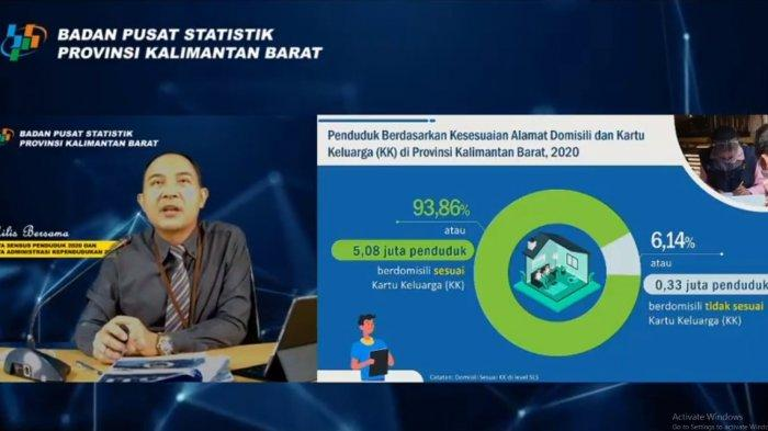 BPS Ungkap 330 Ribu Penduduk Kalbar Tidak Tinggal Sesuai dengan KTP