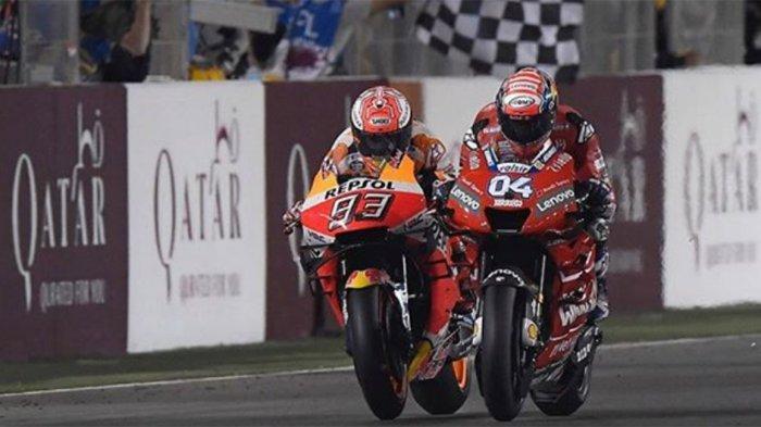 HASIL FP2 & FP1 MotoGP Austria 2019 - Dovisiozo Tercepat Sesi 1, Marc Marquez Membalas Sesi 2