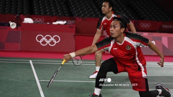 Hasil Thomas Cup 2021 Tadi Malam - Ahsan/Hendra Kunci Kemenangan Indonesia Atas Aljazair