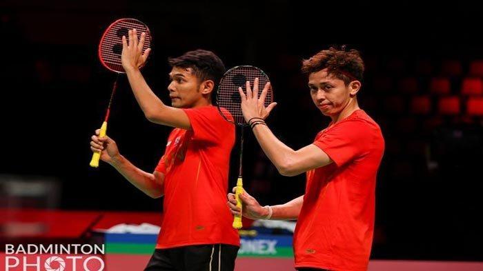 Hasil Thomas Cup: Jalannya Pertandingan Indonesia vs Taiwan, Duel Fajar/Rian vs Lee/Wang