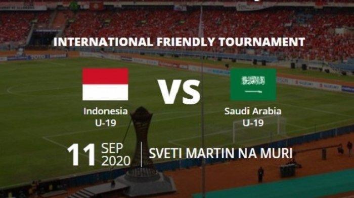 Hasil Timnas Indonesia Vs Arab Saudi U19 Friendly Tournament 2020 Live MolaTV dan NetTV, Kalah Lagi?