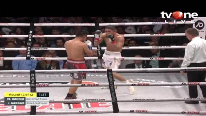 Hasil Tinju Garcia vs Vargas: Mikey Garcia Raih Diamond Belt WBC Setelah Menang Angka