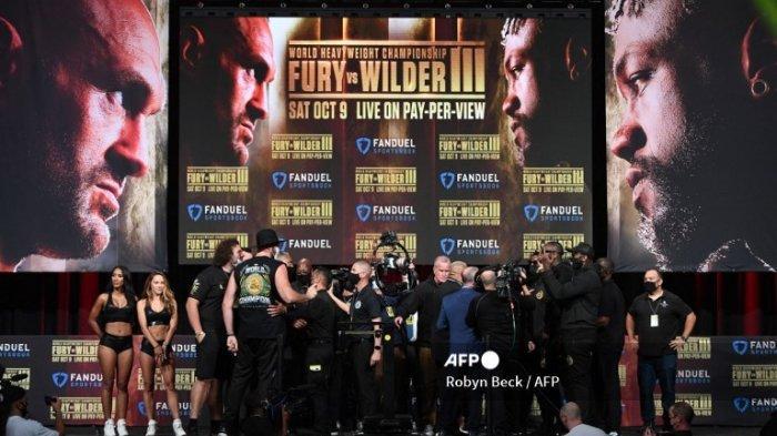 Hasil Tinju Dunia Tyson Fury Vs Deontay Wilder Duel Trilogi Sabuk WBC di Jam Live Indosiar Pagi Ini