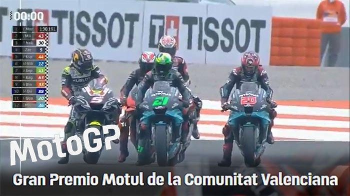 BERBEDA JAM Tayang MotoGP Portugal Malam Ini, Live Race MotoGP Portugal Trans7 Cek Hasil Kualifikasi