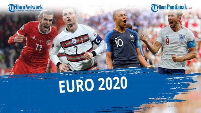 JADWAL EURO 2020 Malam Ini di RCTI dan MNC Sport Lengkap Update Klasemen Piala Eropa