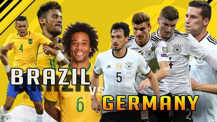 Head to Head Brasil vs Jerman Olimpiade Tokyo 2021 Lengkap Prediksi Skor dan Link Live Streaming