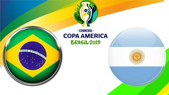Head to Head Brazil Vs Argentina Semifinal Copa America 2019 dan Prediksi Hasil Akhir Laga