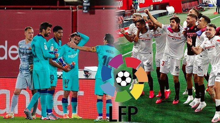 HEAD to Head Sevilla Vs Barcelona, Jadwal La Liga Malam Ini | Lihat Prediksi Sevilla Vs Barcelona