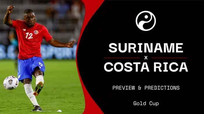 Live Streaming Suriname vs Kosta Rika Piala Emas CONCACAF 2021 Sabtu 17 Juli 2021 Live Mola TV