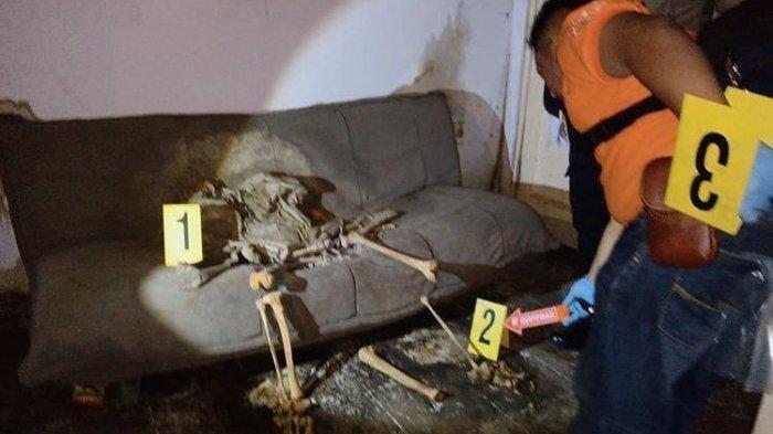 HEBOH Penemuan Kerangka Manusia Duduk di Sofa, Tertutup Jas Hujan dan Jenis Kelamin Belum Diketahui