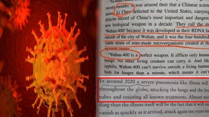 HEBOH Ramalan Mengerikan Kemunculan Wabah Virus Corona yang Mematikan dari Buku Terbitan Tahun 1981