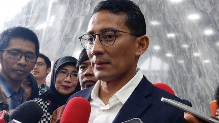 Sandiaga Uno Jadi Menteri Pariwisata dan Ekonomi Kreatif Gantikan Wishnutama