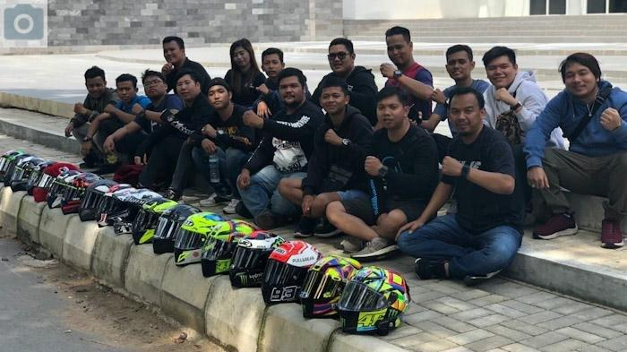 PROFIL Komunitas Helmet Lovers Pontianak, Penggemar Helm Fullface