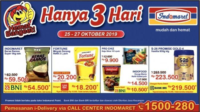 HEMAT BANGET Hanya 3 Hari 25 - 27 Oktober 2019