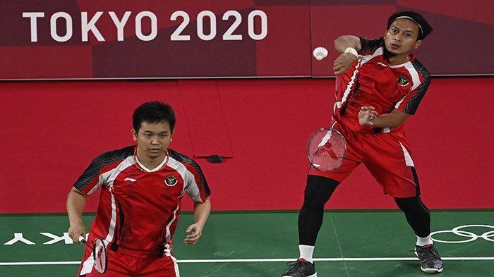 Jam Tayang Pertandingan Badminton Olimpiade Tokyo Hari Kamis 29 Juli 2021 Marcus-Kevin Hendra-Ahsan