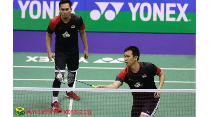 Link Live Streaming Youtube BWF Final Hongkong Open 2019, Ahsan/Hendra vs Choi S. / Seo S. J.