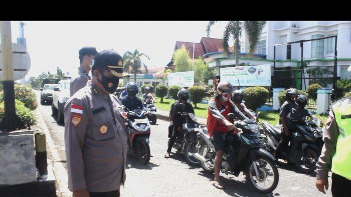 Polres Kapuas Hulu dan Jajaran Laksankan Gerakan Hening Cipta Indonesia