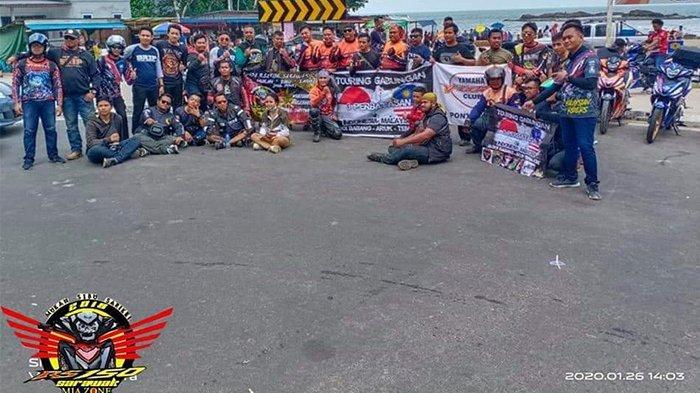 Komunitas Bikers Touring Gabungan ke 3 Wilayah Perbatasan Indonesia-Malaysia