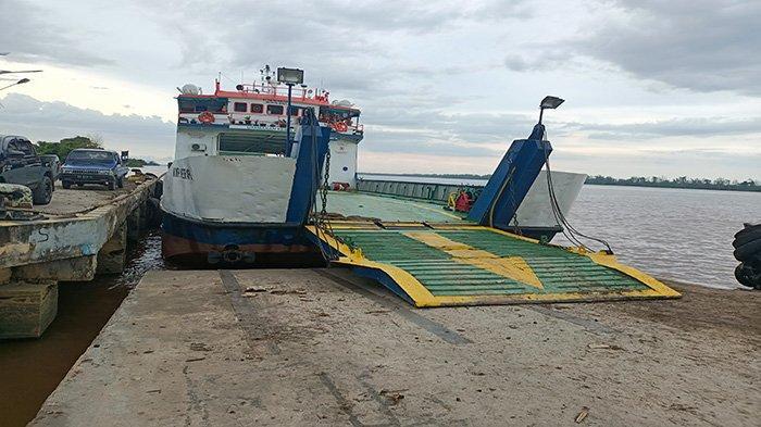 Gantikan KMP Bili yang Terbalik, KMP Kerapu Perkuat Pelayanan Penyeberangan Tebas Perigi Piai
