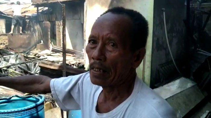 Sedang Membayar Tagihan Listrik, Sakri Kaget Terima Kabar dari Cucu Kalau Rumahnya Terbakar