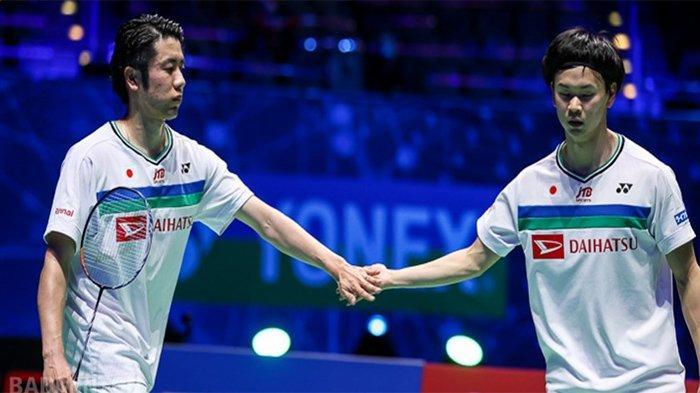 HASIL FINAL All England 2021 - Juara Ganda Putra Bersama Endo, Kans Yuta Watanabe Bawa 2 Gelar Juara