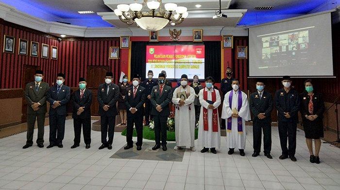 Bupati Sanggau Lantik Pejabat Fungsional dan Auditor, Ini Yang Disampaikan